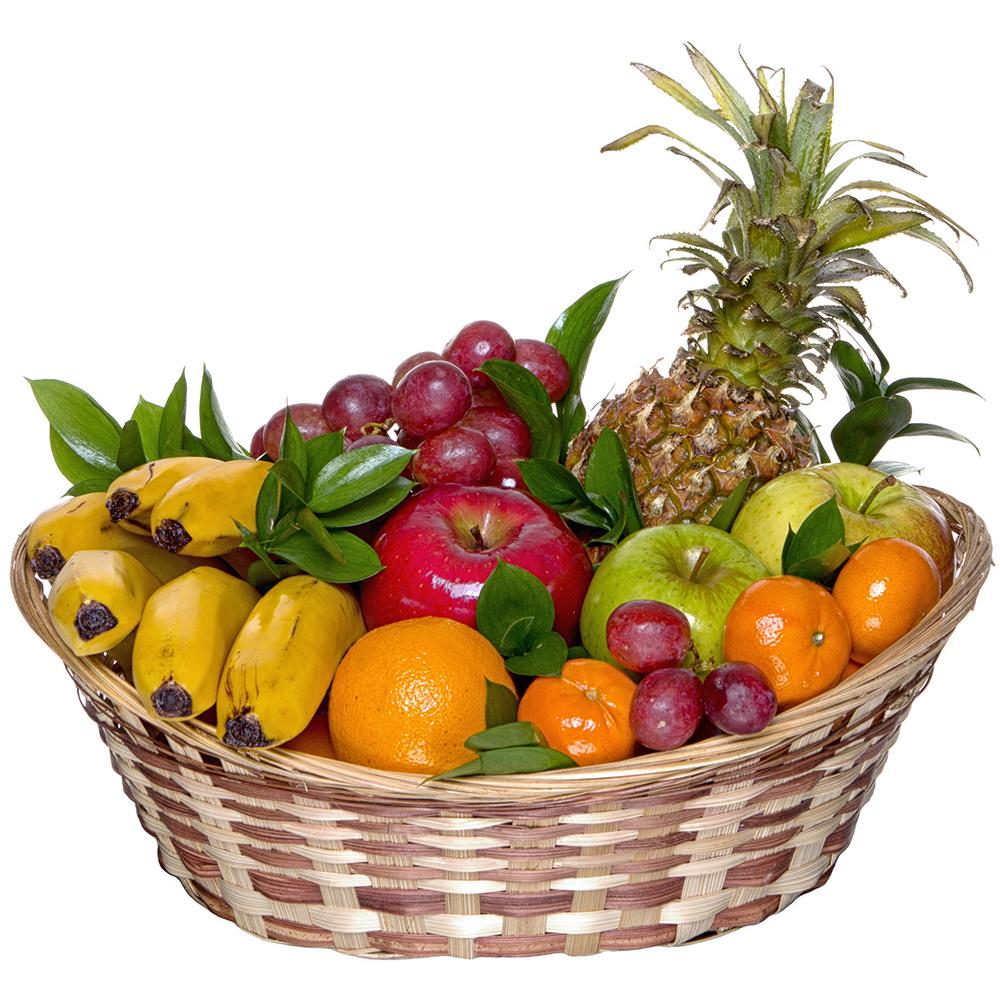Корзинка для фруктов в подарок