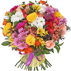 цветы ко дню матери Фестиваль красок