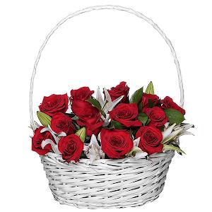 Драгоценной +30% цветов с доставкой в Новосибирске